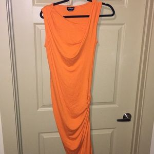 Size small orange Bebe dress
